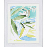 Tropic Blue III Framed Art