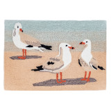 Gathering of Seagulls Rug