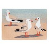 Gathering of Seagulls Rug