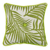 Capri Palm Tufted Pillow