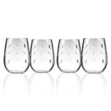 Sailing Stemless Wine Tumblers - Set of 4