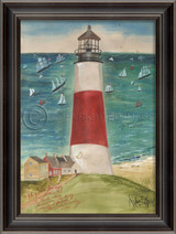 The Path to SanKaty Lighthouse Art