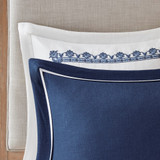 Indigo Skye Oversized Queen Size Comforter Set close up 3