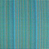 Sun Run Aqua Blue Lumbar Pillow