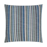 Fancy Navy Stripe Indoor-Outdoor Lux Pillow