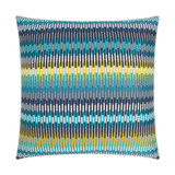Sunfun Aqua Stripe Lux Indoor-Outdoor Pillow