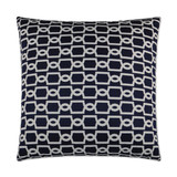 Navy Ocean Gate Lux Pillow