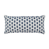 Fifi Indigo Lumbar Pillow