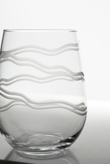 Good Vibrations Stemless Wine Glasses -Set of 4 detail