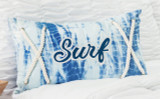 Surf Tie Dye Lumbar Pillow