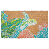 Bright Sea 24 x 36 Turtle Natura Door Mat