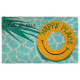 Our Happy Place Natura Coir Door Mat