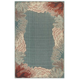 Riviera Reef Border Woven Rug