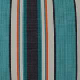 Montauk Stripes Pillow fabric close up