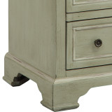 Chesapeake Cottage Tall Cabinet bottom