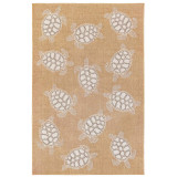 Taupe Carmel Sea Turtle Rug main image