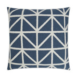 Navy Port of Call Pillow