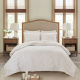 Bahama Palms Tufted Chenille Queen Comforter Set