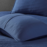 Marina Sea 8-Piece Comforter and Coverlet Collection quilted coverlet and matching shams