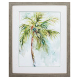 Palm Breezes I Framed Art