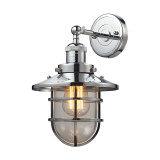 Seaport II Polished Chrome Sconce