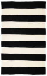 Remora Ebony Striped Rug