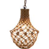 Kasey Key Knotted Jute Lighting Pendant