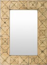 Isle Bamboo Inlaid Mirror