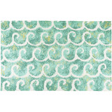 Dancing Waves Accent Rug