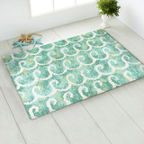 Dancing Waves Accent Rug room view 1