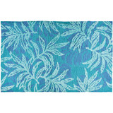 Blue Rainforest Accent Rug