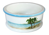 Palm Breezes Wine Coaster