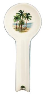 Palm Breezes Spoon Rest