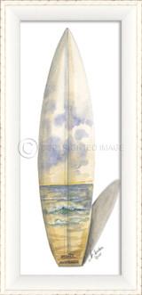 Beach Australian Scene Surfboard Art