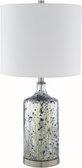 Ormand Blue Mercury Glass Table Lamp