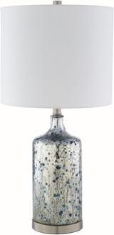 Ormand Blue Mercury Glass Table Lamp