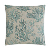 Aqua Reef Encounter Embossed Pillow