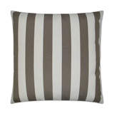 Driftwood Cabana Striped 22 x 22 Outdoor Lux Pillow