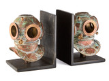 Diver Helmet Bookends