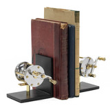 Polished Fishing Reel Bookends view 1