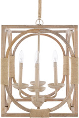 Shoreside Ivory Pendant Chandelier