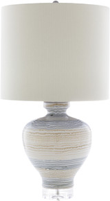 Miramar Striped Table Lamp