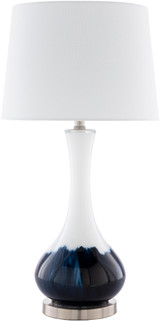 Julissa Coastal Splashed Table Lamp