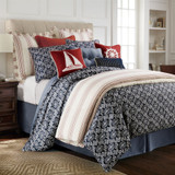 Monterrey Luxury Duvet 4-Piece Queen Size Set room view 2