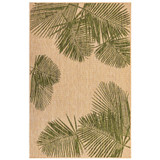 Carmel Tropical Green Palm Rug