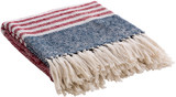Nautical Striped Traverse Woven Throw view 2