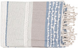 Manzanita Beach Striped Throw