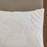 Bahama Palms Tufted Chenille Coverlet Set shams 1