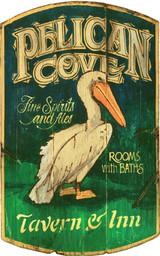 Pelican Cove Custom Art Sign