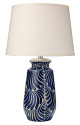Santa Barbara Blue and White Table Lamp